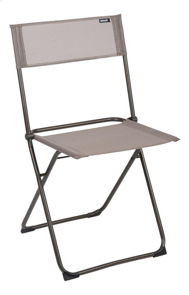 Image pour Lafuma Chaise pliante Anytime ecorce à partir de ColliShop