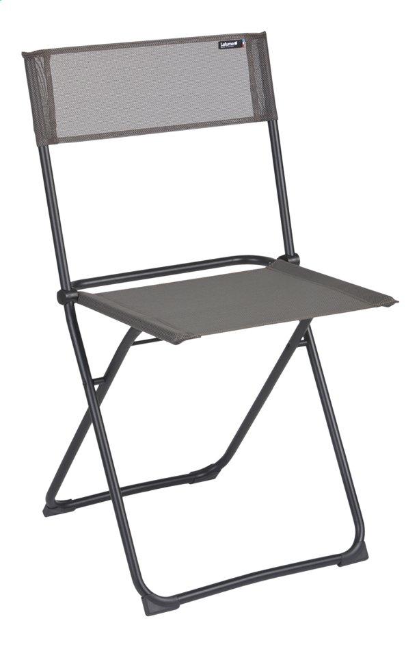 Image pour Lafuma Chaise pliante Anytime graphite à partir de ColliShop