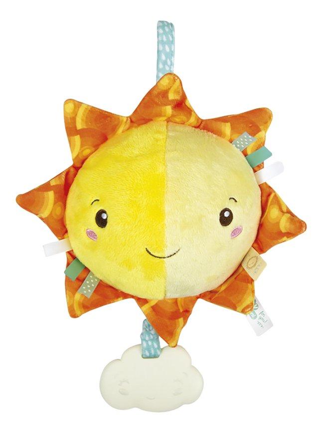 baby Clementoni muzikale knuffel Soft Sun 22 cm