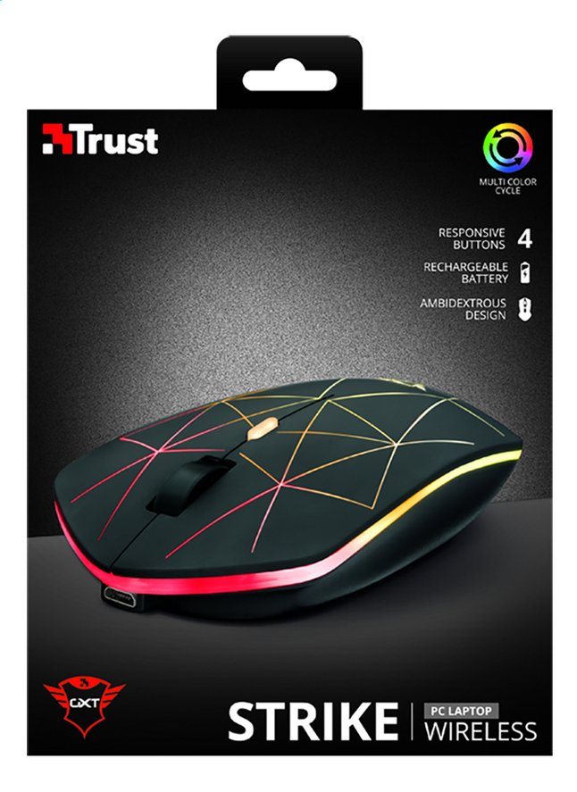 Image pour Trust souris GXT 117 Strike Wireless à partir de ColliShop