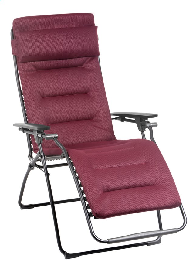 Afbeelding van Lafuma relaxzetel Futura Air Comfort bordeaux from ColliShop
