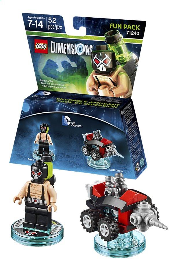 Image pour LEGO Dimensions figurine Fun Pack DC Comics 71240 Bane à partir de ColliShop