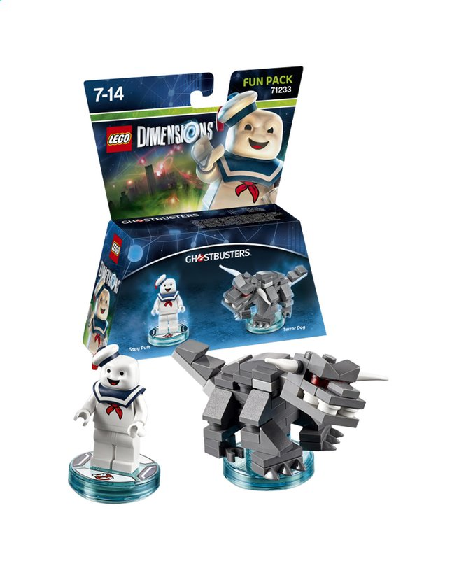 Afbeelding van LEGO Dimensions figuur Fun Pack Ghostbusters 71233 Stay Puft from ColliShop