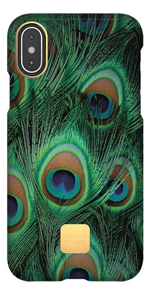 Image pour Happy Plugs coque pour iPhone X/Xs Peacock à partir de ColliShop