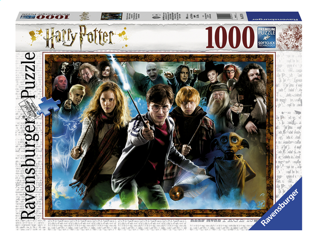 Afbeelding van Ravensburger puzzel Harry Potter de tovenaarsleerling from ColliShop
