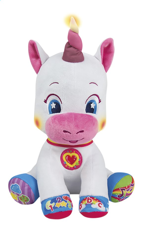 baby Clementoni peluche interactive Unicorn