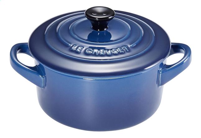 Image pour Le Creuset Minicocotte 10 cm - 0,2 l bleu à partir de ColliShop