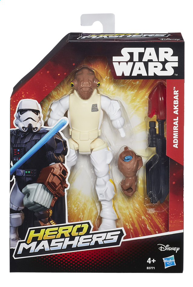 Afbeelding van Figuur Star Wars Hero Mashers Admiral Akbar from ColliShop