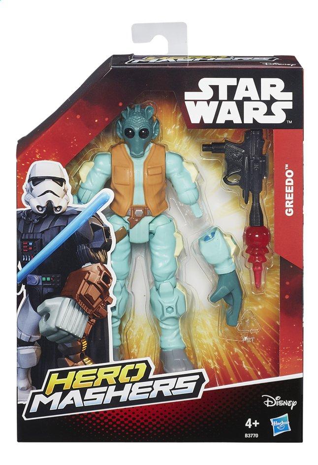 Afbeelding van Figuur Star Wars Hero Mashers Greedo from ColliShop