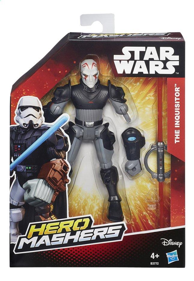 Afbeelding van Figuur Star Wars Hero Mashers The Inquisitor from ColliShop