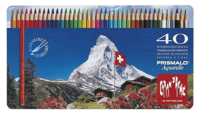 Caran d'Ache crayon de couleur Prismalo - 40 pièces