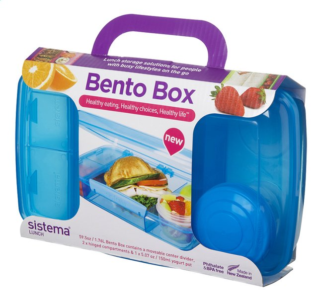 Afbeelding van Sistema lunchbox Bento Box blauw from ColliShop