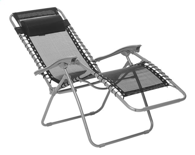 Réglable Chaise Longue Chaise Joy Noir Longue 8XN0wPkOn