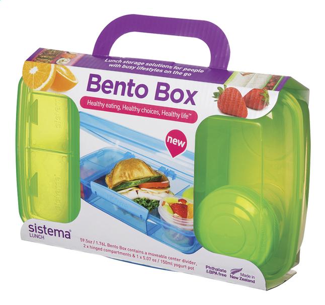 Image pour Sistema lunchbox Bento Box vert à partir de ColliShop