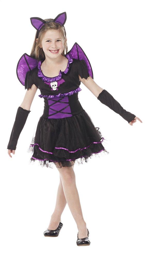 Image pour Déguisement de chauve-souris violet taille 146 à partir de ColliShop
