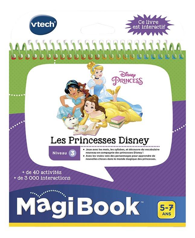 VTech MagiBook livre éducatif - Niveau 3 - Les Princesses Disney