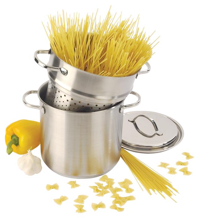 Afbeelding van Demeyere soeppot met pasta-inzet Resto 20 cm from ColliShop