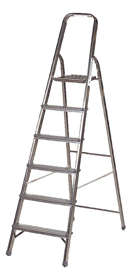 Afbeelding van Excelsior aluminium trapladder met 6 treden from ColliShop
