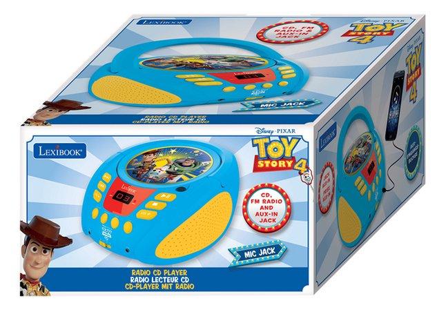 Lexibook radio/lecteur CD portable Toy Story 4