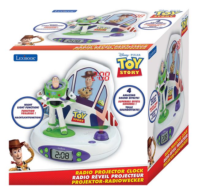 Afbeelding van Lexibook Wekkerradio met projectie Toy Story 4 from ColliShop