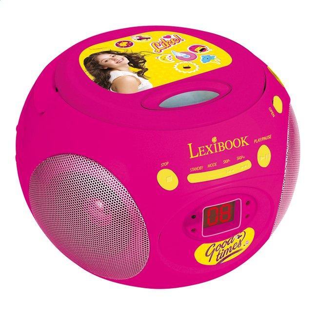 Image pour Lexibook radio/lecteur CD portable Disney Soy Luna à partir de ColliShop