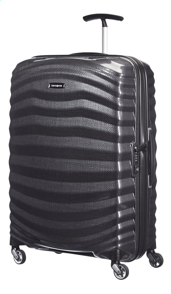 Afbeelding van Samsonite Harde reistrolley Lite-Shock Spinner black from ColliShop
