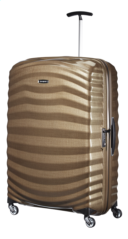 Afbeelding van Samsonite Harde reistrolley Lite-Shock Spinner sand 81 cm from ColliShop