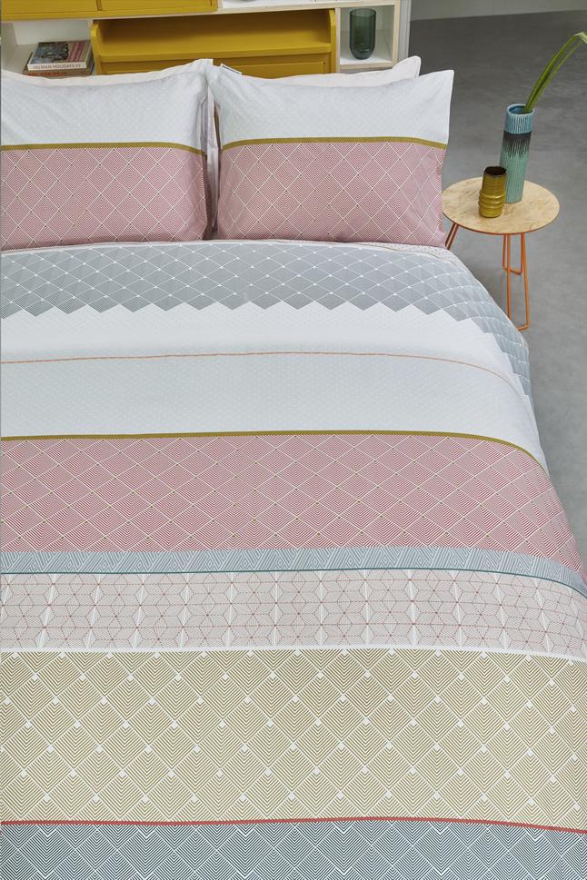 Image pour Beddinghouse Housse de couette Teije multi coton 200 x 220 cm à partir de ColliShop