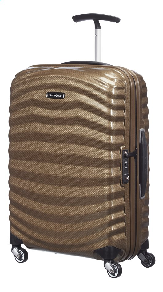 Afbeelding van Samsonite Harde reistrolley Lite-Shock Spinner sand from ColliShop
