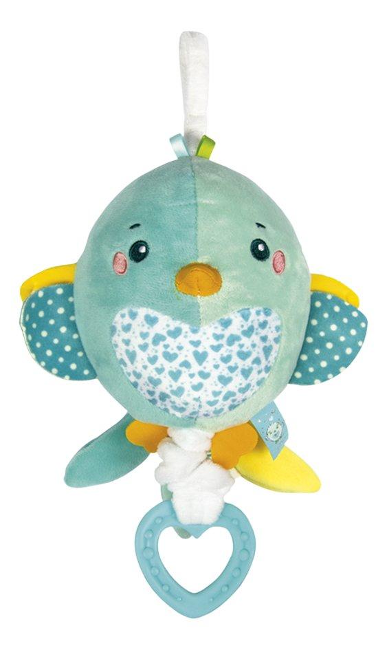 baby Clementoni muzikale knuffel Soft Bird 22 cm