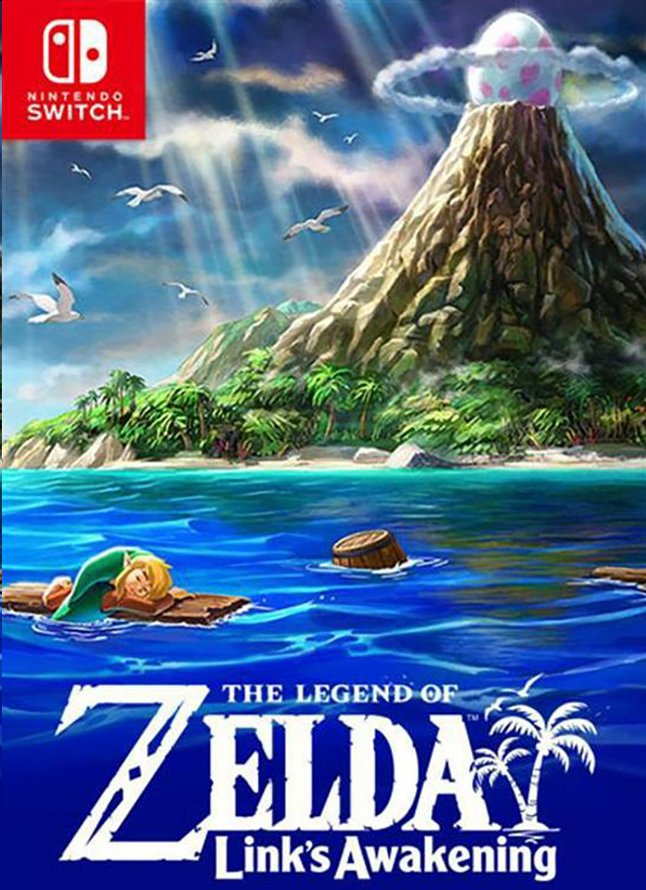 Nintendo Switch The Legend of Zelda: Link's Awakening ENG