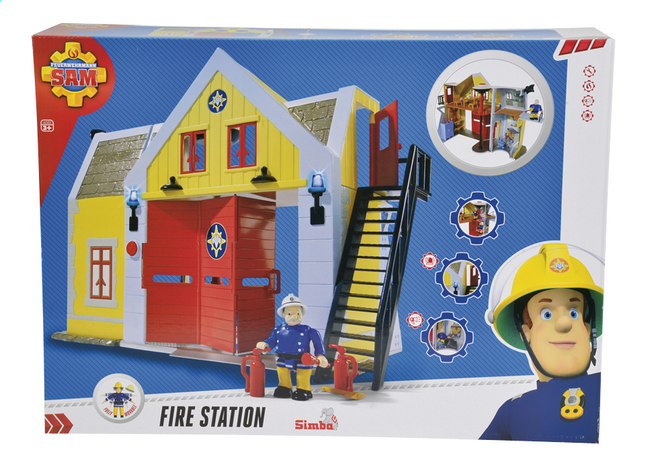 Image pour Set Sam le pompier Fire Station à partir de ColliShop