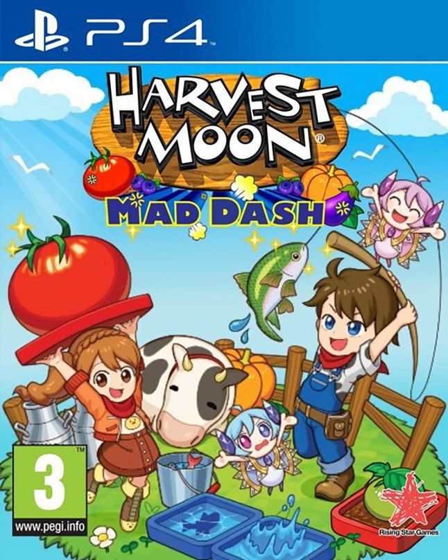 PS4 Harvest Moon Mad Dash FR/ANG