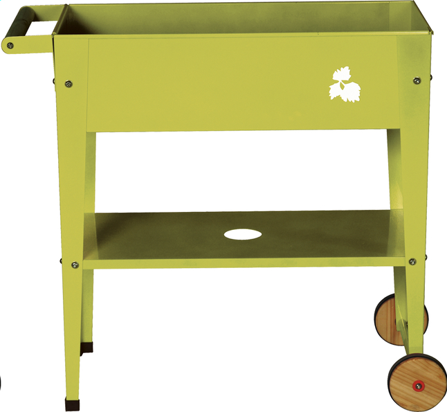 Image pour Table de rempotage Trolley 75 x 35 cm lime à partir de ColliShop