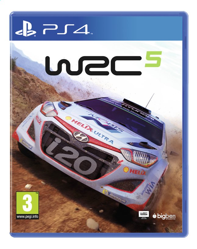 Afbeelding van PS4 WRC 5 ENG/FR from ColliShop
