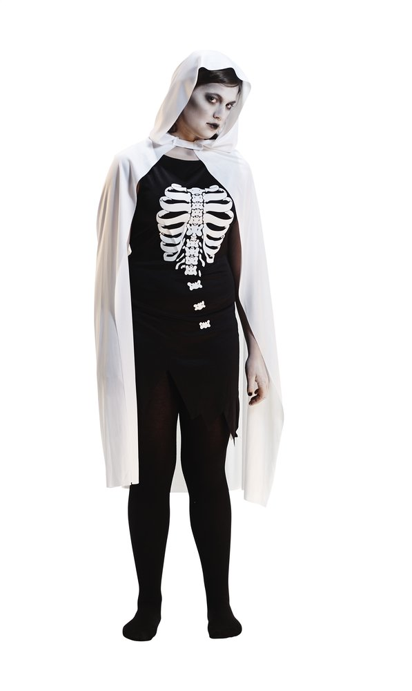 Afbeelding van Verkleedpak skelet maat 42 from ColliShop