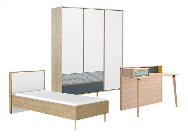 Image pour Chambre 3 éléments Larvik à partir de ColliShop