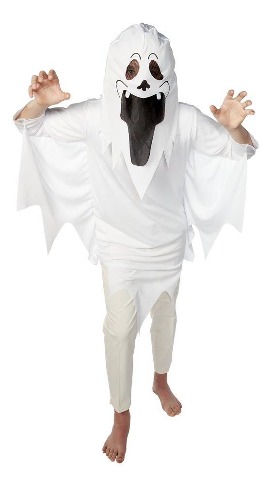 Afbeelding van Verkleedpak spook + masker maat 146 from ColliShop