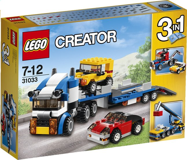 Afbeelding van LEGO Creator 31033 Autotransport from ColliShop
