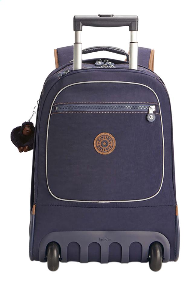 Image pour Kipling sac à dos à roulettes Clas Soobin L Blue Tan Block à partir de ColliShop