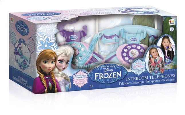 Afbeelding van Intercom telefoonset Disney Frozen from ColliShop
