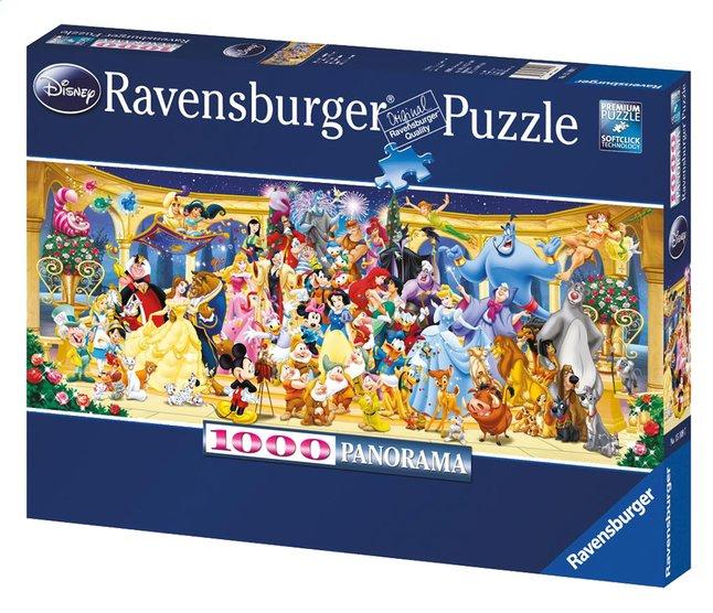 Afbeelding van Ravensburger panoramapuzzel Disney groepsfoto from ColliShop