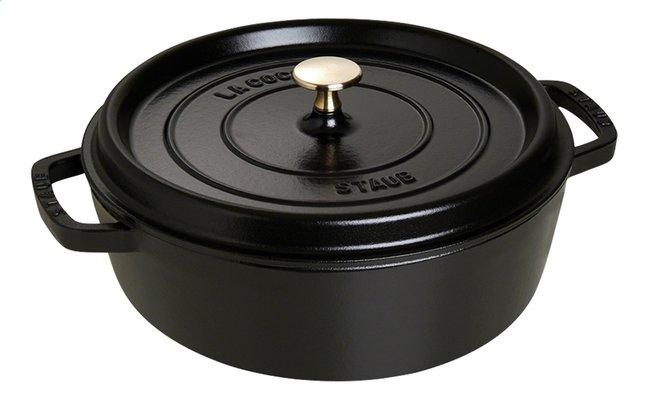 Afbeelding van Staub Ronde stoofpan zwart 26 cm - 3,8 l from ColliShop