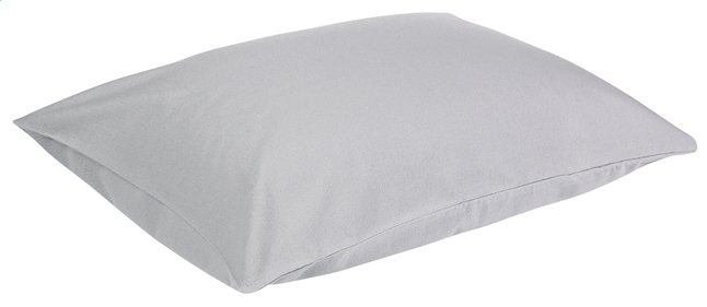 Image pour Sleepnight set de 2 taies d'oreiller pour oreiller à eau gris en flanelle à partir de ColliShop