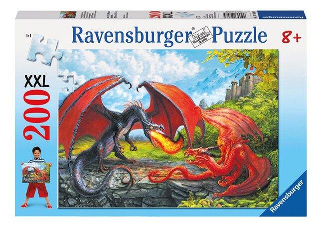 Afbeelding van Ravensburger puzzel Drakengevecht from ColliShop