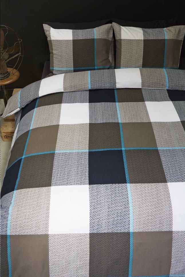 Image pour Beddinghouse Housse de couette Benja flanelle 240 x 220 cm à partir de ColliShop