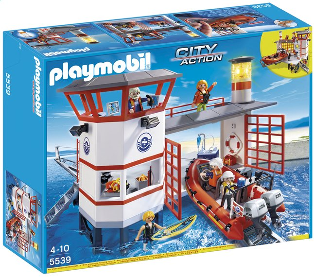 Afbeelding van Playmobil City Action 5539 Kustwachtcentrale met vuurtoren from ColliShop