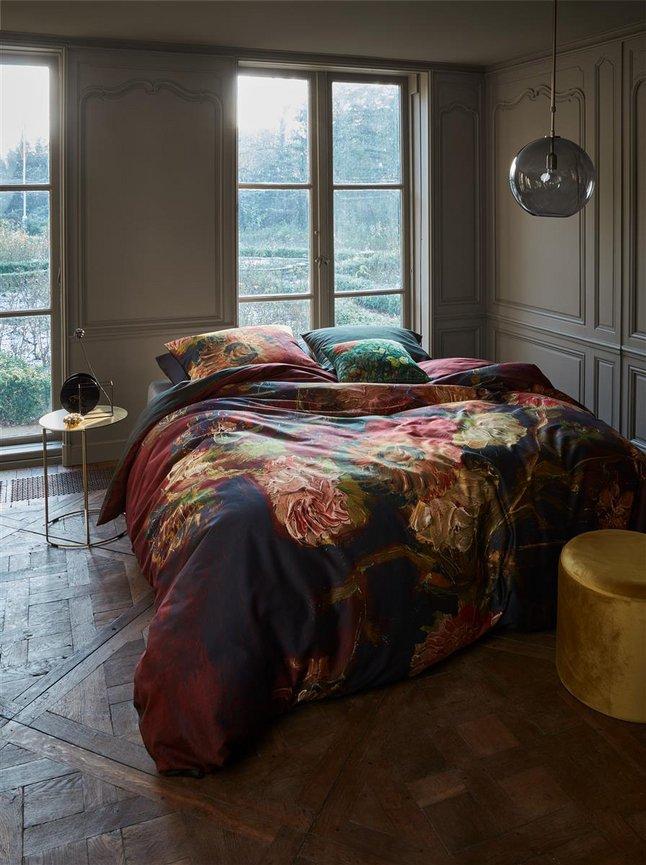 Afbeelding van Beddinghouse Dekbedovertrek Van Gogh Gladioli red katoensatijn from ColliShop