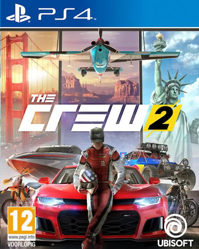 PS4 The Crew 2 ENG/FR