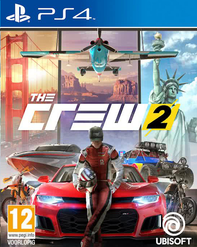 Afbeelding van PS4 The Crew 2 ENG/FR from ColliShop